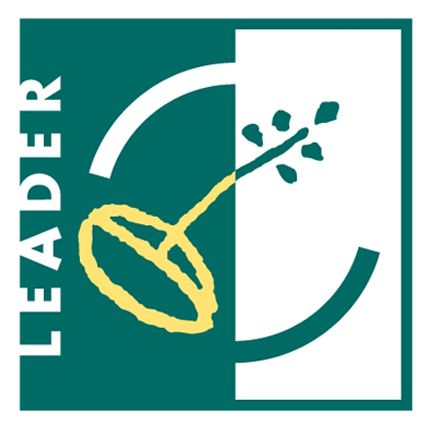 Green and White Logo